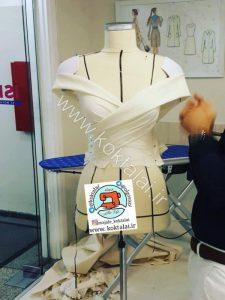 آموزش الگوی لباس
